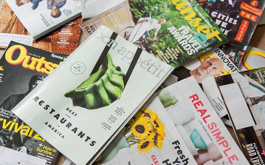 published magazines