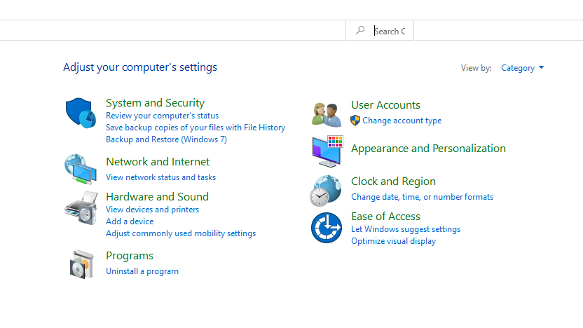 change mouse dpi windows 10: select hardware and sound