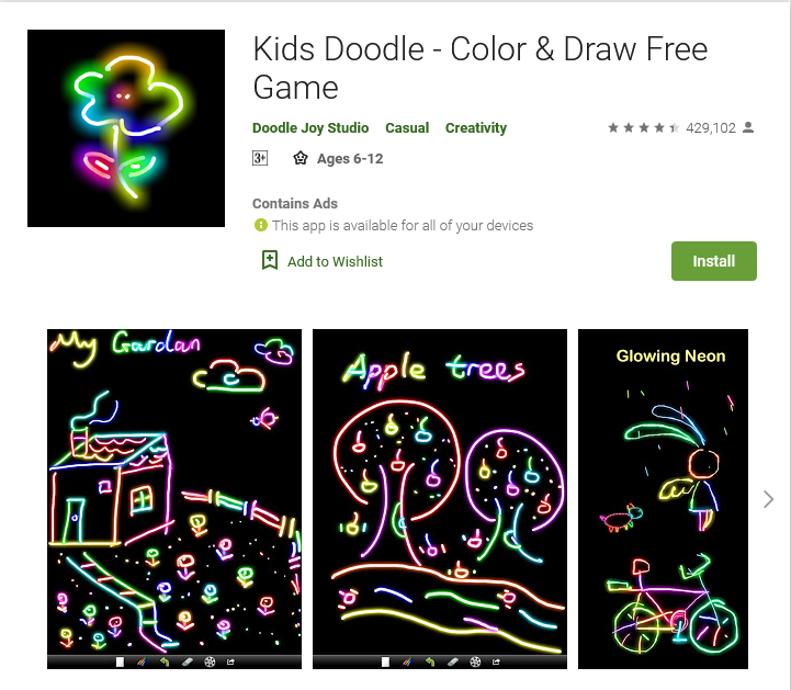 Kids Doodle - Color & Draw (Free: Android)